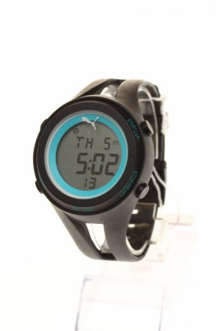Ρολόι PUMA, Χρώμα Μαύρο, Σιλικόνη, Τιμή 30,67€
