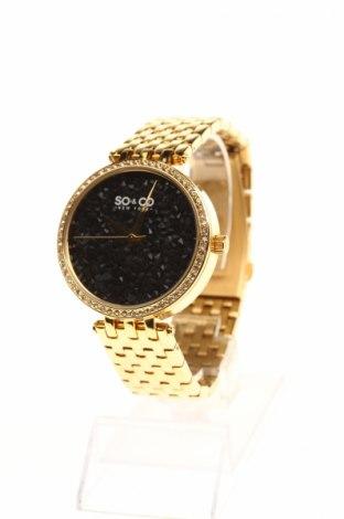 Ceas SO&CO New York, Culoare Auriu, Metal, Preț 241,58 Lei