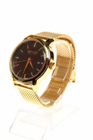 Часовник SO&CO New York, Цвят Златист, Метал, Цена 68,85лв.