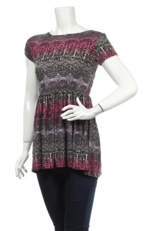Дамска блуза A Wear, Размер M, Цвят Многоцветен, 95% вискоза, 5% еластан, Цена 3,68лв.