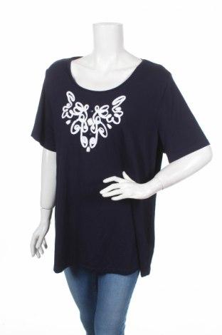 Дамска блуза Alessa W., Размер M, Цвят Син, 94% вискоза, 6% еластан, Цена 4,99лв.