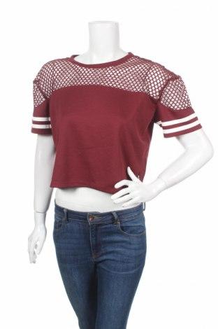Дамска блуза Amy & Ivy, Размер M, Цвят Кафяв, Полиестер, Цена 4,73лв.