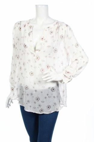 Дамска блуза Ann Taylor, Размер L, Цвят Бял, 100% полиестер, Цена 9,00лв.