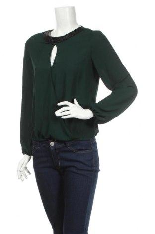 Дамска блуза Anna Field, Размер S, Цвят Зелен, Полиестер, Цена 9,43лв.