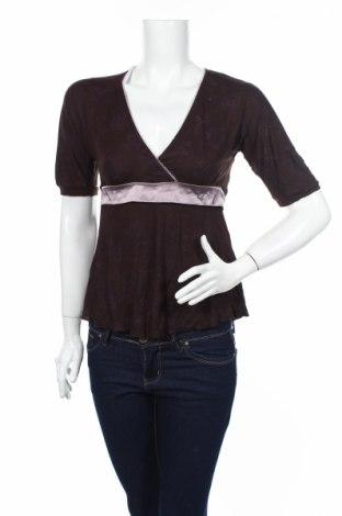 Дамска блуза Freeman T. Porter, Размер S, Цвят Кафяв, 100% вискоза, Цена 5,72лв.