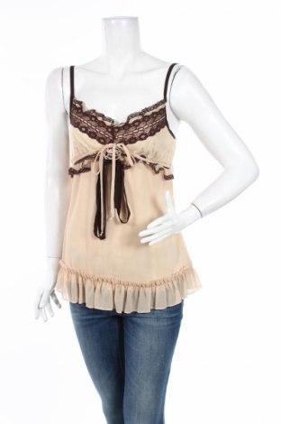 Γυναικεία μπλούζα Heart Soul, Μέγεθος M, Χρώμα  Μπέζ, Πολυεστέρας, Τιμή 2,97€
