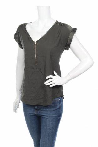 Дамска блуза Jennifer Taylor, Размер S, Цвят Зелен, Цена 4,73лв.