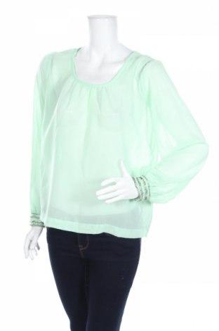 Дамска блуза Units, Размер S, Цвят Зелен, 100% полиестер, Цена 6,24лв.