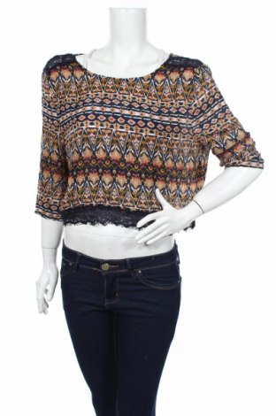 Дамска блуза Yes Or No, Размер XL, Цвят Многоцветен, Вискоза, Цена 4,75лв.