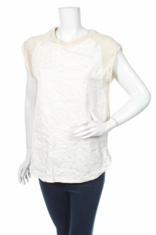 Γυναικεία μπλούζα Zara, Μέγεθος M, Χρώμα  Μπέζ, 81% βαμβάκι, 19% πολυεστέρας, Τιμή 16,49€