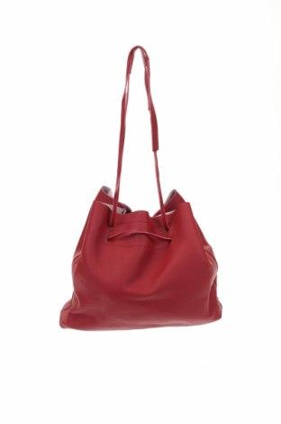 Geantă de femei, Culoare Roșu, Piele ecologică, Preț 136,42 Lei