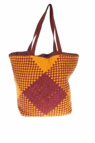 Damska torebka Antik Batik, Kolor Brązowy, Materiał tekstylny, Cena 151,43zł