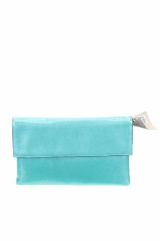 Дамска чанта San Marina, Цвят Син, Естествена кожа, Цена 61,48лв.