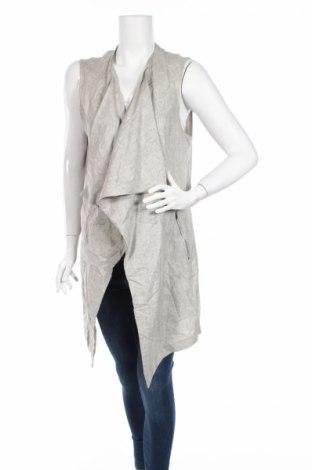 Дамска жилетка New Look, Размер XL, Цвят Сив, 73% вискоза, 27% лен, Цена 25,52лв.