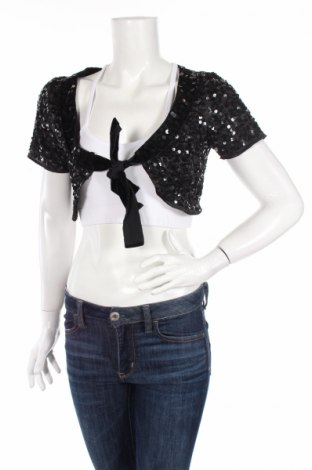 Дамска жилетка Vero Moda, Размер S, Цвят Черен, Полиестер, Цена 6,50лв.