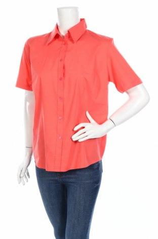 Дамска риза, Размер L, Цвят Розов, 65% полиестер, 35% памук, Цена 3,94лв.