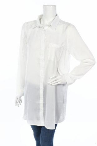 Дамска риза Ada Gatti, Размер L, Цвят Бял, Полиестер, Цена 13,00лв.