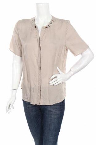 Дамска риза Alessa W., Размер M, Цвят Бежов, Цена 3,94лв.