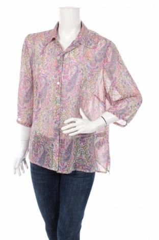 Дамска риза Atelier Gs, Размер M, Цвят Многоцветен, Полиестер, Цена 4,50лв.