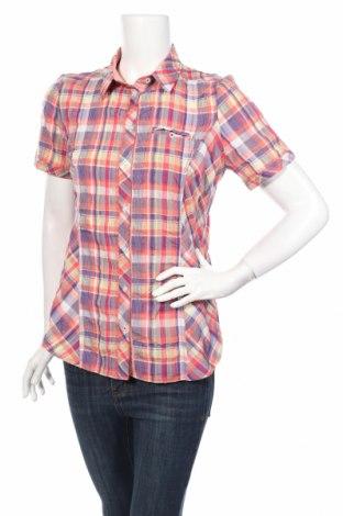 Дамска риза Charles Vogele, Размер S, Цвят Многоцветен, 51% памук, 48% полиестер, 1% еластан, Цена 3,94лв.