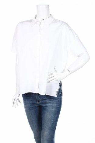 Дамска риза Cop.copine, Размер L, Цвят Бял, Памук, Цена 33,75лв.