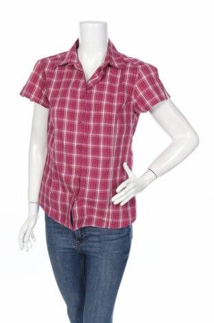 Дамска риза Crane, Размер M, Цвят Многоцветен, 50% полиестер, 30% вискоза, 20% памук, Цена 4,20лв.
