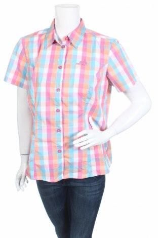 Γυναικείο πουκάμισο Crivit, Μέγεθος L, Χρώμα Πολύχρωμο, 66% βαμβάκι, 30% πολυεστέρας, 4% ελαστάνη, Τιμή 3,12€