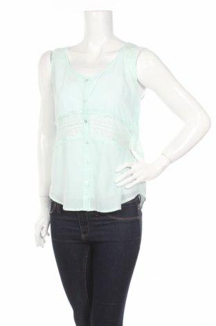 Γυναικείο πουκάμισο Fb Sister, Μέγεθος M, Χρώμα Πράσινο, Πολυεστέρας, Τιμή 2,91€