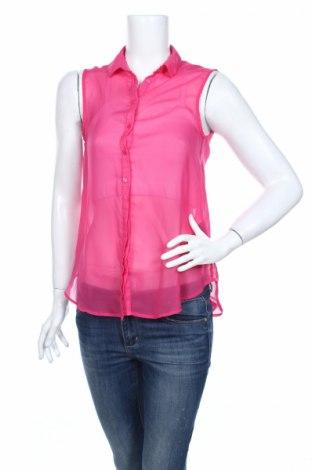 Дамска риза H&M, Размер S, Цвят Розов, Полиестер, Цена 4,00лв.