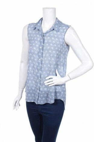 Γυναικείο πουκάμισο H&M, Μέγεθος XS, Χρώμα Μπλέ, Πολυεστέρας, Τιμή 3,43€