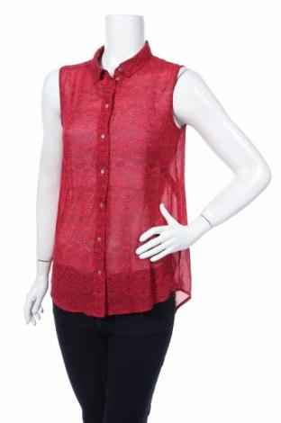 Дамска риза H&M, Размер S, Цвят Червен, Цена 4,99лв.