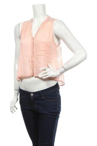 Γυναικείο πουκάμισο Hollister, Μέγεθος S, Χρώμα Ρόζ , Τιμή 3,21€