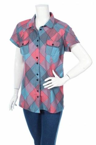 Дамска риза Icepeak, Размер XL, Цвят Многоцветен, 95% полиестер, 5% еластан, Цена 10,40лв.
