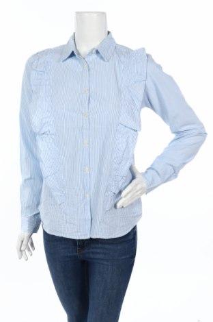 Дамска риза Ltb, Размер M, Цвят Син, Памук, Цена 23,40лв.