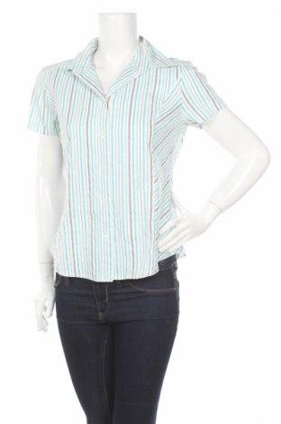 Дамска риза My Own, Размер M, Цвят Многоцветен, 51% полиестер, 46% памук, 3% еластан, Цена 5,00лв.