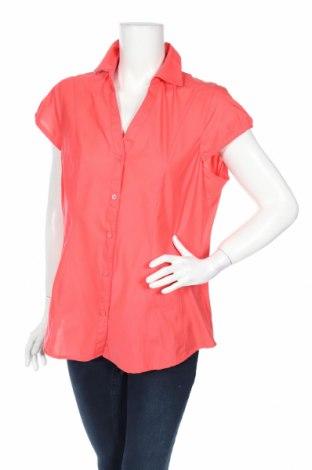 Дамска риза Okay, Размер L, Цвят Розов, 65% полиестер, 35% памук, Цена 4,46лв.