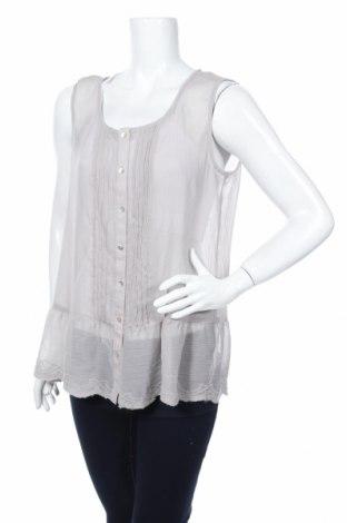 Дамска риза Street One, Размер L, Цвят Сив, Цена 4,54лв.