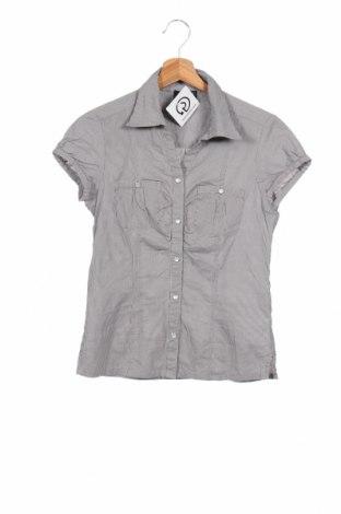 Дамска риза Y.Yendi, Размер S, Цвят Сив, Памук, Цена 4,73лв.