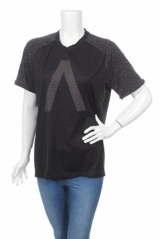 Tricou de femei Adidas, Mărime M, Culoare Negru, 97% poliester, 3% bumbac, Preț 27,47 Lei