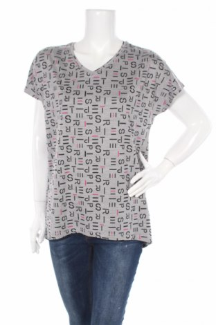 Tricou de femei Esprit, Mărime L, Culoare Gri, 88% poliester, 12% elastan, Preț 47,37 Lei