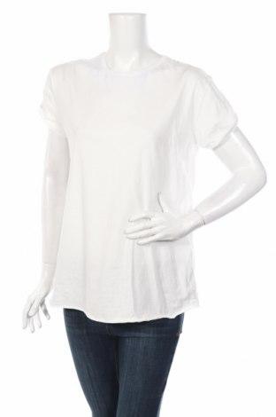 Дамска тениска Ltb, Размер L, Цвят Бял, Памук, Цена 24,36лв.