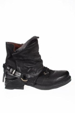 Γυναικεία μποτάκια A.S. 98, Μέγεθος 38, Χρώμα Μαύρο, Γνήσιο δέρμα, Τιμή 138,79€
