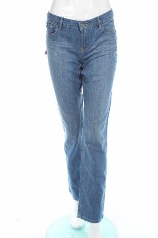 Dámské džíny  Edc By Esprit, Rozměr L, Barva Modrá, 99% bavlna, 1% elastan, Cena  385,00Kč