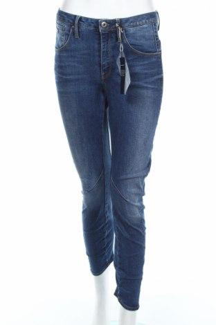 Дамски дънки G-Star Raw, Размер XS, Цвят Син, 92% памук, 7% полиестер, 1% еластан, Цена 62,10лв.