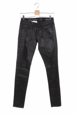 Дамски дънки Guess, Размер XS, Цвят Черен, 93% памук, 7% еластан, Цена 44,70лв.