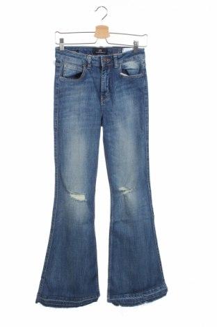 Дамски дънки Ltb, Размер M, Цвят Син, 92% памук, 5% полиестер, 3% еластан, Цена 44,50лв.
