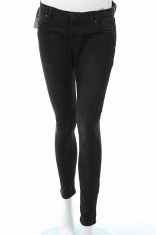 Дамски дънки Ltb, Размер L, Цвят Черен, 98% памук, 2% еластан, Цена 44,50лв.