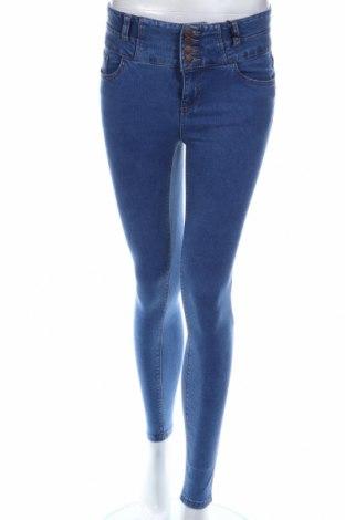 Дамски дънки New Look, Размер XS, Цвят Син, 86% памук, 11% полиестер, 3% еластан, Цена 16,20лв.