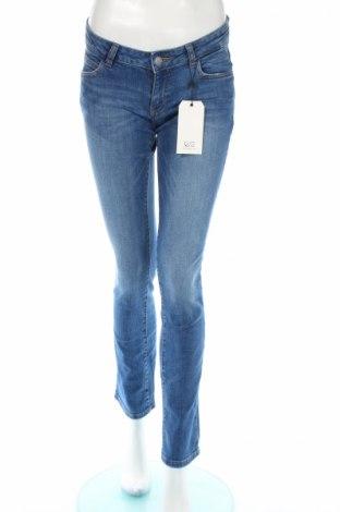Damskie jeansy Q/S by S.Oliver, Rozmiar S, Kolor Niebieski, 99% bawełna, 1% elastyna, Cena 35,14zł
