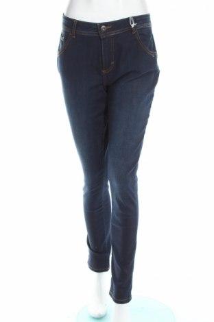 Дамски дънки Tbs, Размер XL, Цвят Син, 99% памук, 1% еластан, Цена 52,32лв.